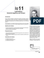 Modulo 11 de Estadistica y Probabilidad