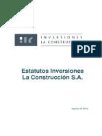 Estatutos ILC Al 01-08-2012