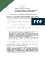 Philippine Deposit Insurance Corporation Act (RA 3591)