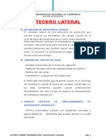 Trabajo de Estructuras Vertedero Lateral Compañeros