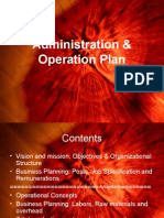 Administration & Operation Plan.ppt