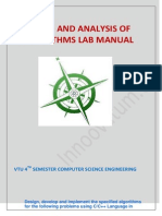 Daa Lab Manual