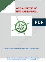 Daa Lab Manual