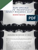Ingrijiri Speciale Acordate Pacientului Cu Infarct Miocardic Acut