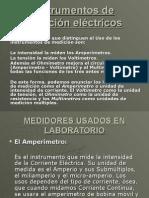 Instrumentos de Medición Eléctricos