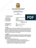 Silabo ( Electronica Analogo-digital)2014-0