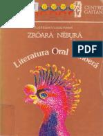 Literatura Oral Embera (Zroara Nebura)