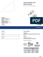 Grease Fittings and Bleed Fittings