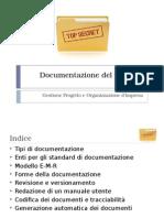 presentazione documentazione progetto