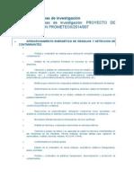 Lineas de Investigación Universidad de Alicante