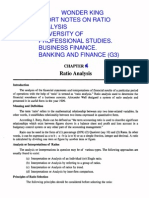 Chapter 9 Ratio Analysis1