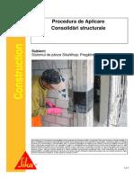 Sika 41004 Sika Consolidari Structurale Sistemul de Panze Sikawarp Rom