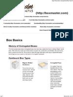 Box Basics - Boxmaster