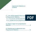 Tema 4 Programación Didáctica Lomce