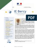 IE Bercy Nº42 - Avril 2015