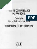 Tcf - 250 Activites - Corriges