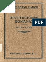 Instituciones romanass