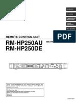 CCU JVC RM HP250
