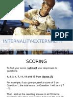 Internality Externality