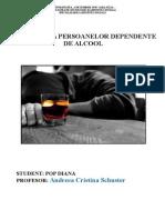 Consilierea Persoanelor Dependente de Alcool