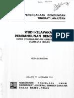 Studi Kelayakan Pembangunan Bendungan