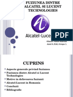 Fuziunea Alcatel - Lucent