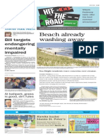 Asbury Park Press front page Monday, May 11 2015