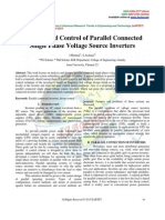 Analysis and Control of Parallel Connected Single Phase Voltage Source Inverters
