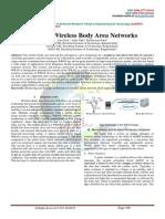 STUDY OF WIRELESS BODY NETWORKS