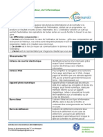 Vocabulaire Ordinateur Informatique Internet 11-Pages