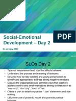 Interaction Styles | Temperament | Emergence