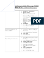 PMP_R_ Prep Course Details - 5th Edition