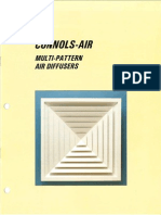 Multi Pattern Diffusers
