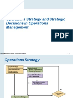 Operations Strategy and Strategic Decisons in Operations Management