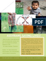 Assyrians Saving Lives!