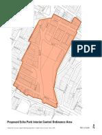 Echo Park Interim Control Ordinance Boundaries