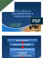 Tata Kelola, Kepemimpinan & Pengarahan (TKP)