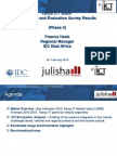 Julisha Phase 2-KICTB Survey Results Phase II - Results Launchv2