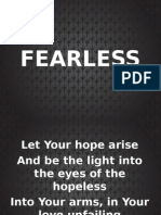 Fearless - Liveloud