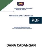 Akuntansi Dana Cadangan