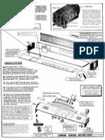 Walthers 7805 6-6 Pullman Kit