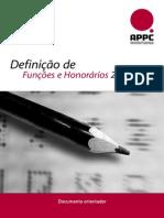 Appc Definicao Funcoes Honorarios 2008
