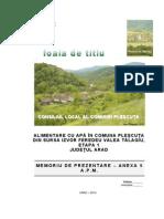 Memoriu Prezentare Plescuta Mediu Conf Anexa 5