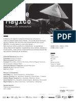 20141116 | Programa de Sala Tapete Mágico | Primeiros concertos