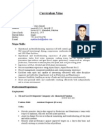 C.v.( Process Engineer)