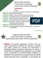 Regional Caldas Del SENA Presentacion RETILAP 2014