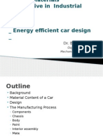 Project Presentation- Energy Efficient Car Design