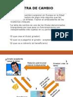 Letra de Cambio Expo