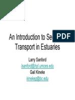 Sediment Transportation