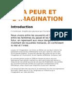 La Peur Et l'imagination